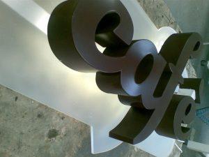 lettere scatolate quadri luminosi