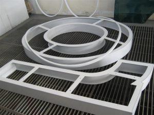 Lettere scatolate in alluminio complete di cornici